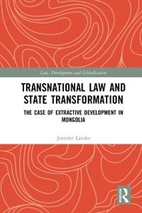 Cover Transnational Law and State Transformation