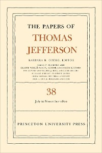 Cover The Papers of Thomas Jefferson, Volume 38