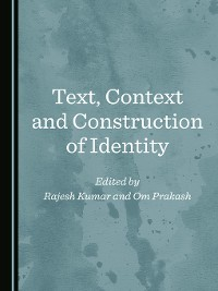 Cover Text, Context and Construction of Identity