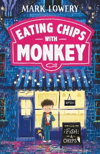 Cover Eating Chips with Monkey