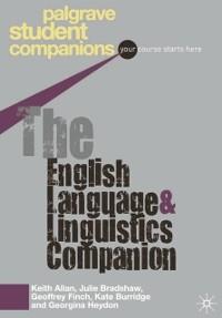 Cover English Language and Linguistics Companion
