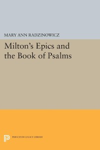 Cover Milton's Epics and the Book of Psalms