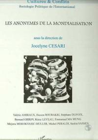 Cover LES ANONYMES DE LA MONDIALISATION (n(deg)33-34)