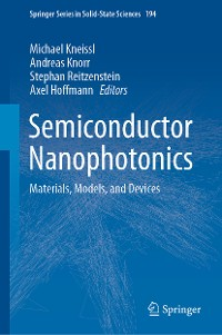 Cover Semiconductor Nanophotonics