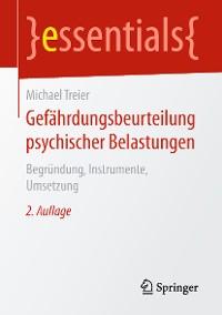 Cover Gefährdungsbeurteilung psychischer Belastungen