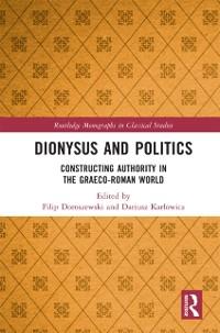 Cover Dionysus and Politics