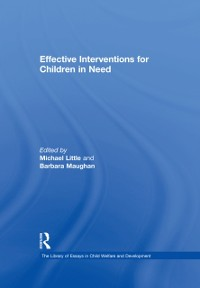 Cover Effective Interventions for Children in Need