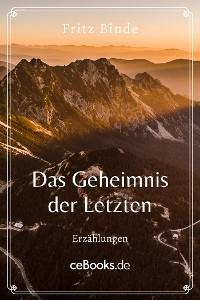 Cover Das Geheimnis der Letzten