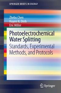 Cover Photoelectrochemical Water Splitting