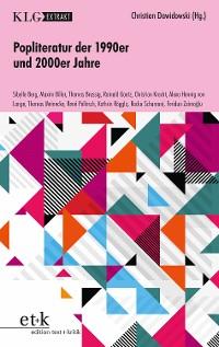 Cover KLG Extrakt - Popliteratur der 1990er und 2000er Jahre