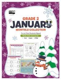 Cover January Monthly Collection, Grade 2
