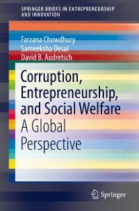 Cover Corruption, Entrepreneurship, and Social Welfare