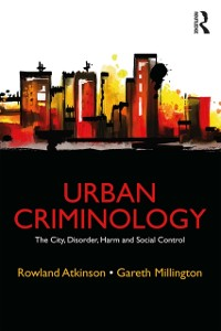 Cover Urban Criminology
