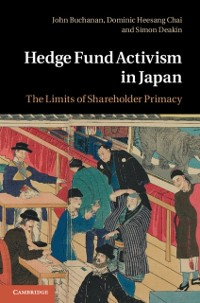 Cover Hedge Fund Activism in Japan