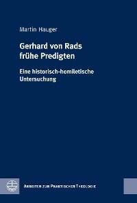 Cover Gerhard von Rads frühe Predigten