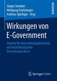 Cover Wirkungen von E-Government