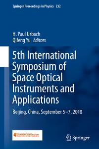 Cover 5th International Symposium of Space Optical Instruments and Applications