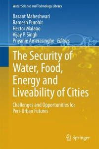 Cover The Security of Water, Food, Energy and Liveability of Cities