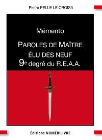 Cover Mémento 9e degré du R.E.A.A.