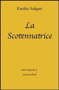 Cover La scotennatrice di Emilio Salgari in ebook