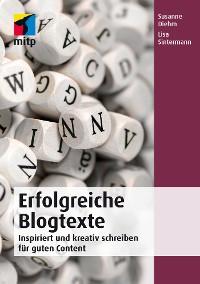 Cover Erfolgreiche Blogtexte