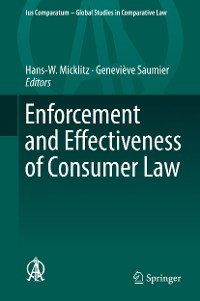 Cover Enforcement and Effectiveness of Consumer Law