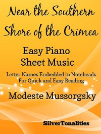 Cover Near the Southern Shore of the Crimea Easy Piano Sheet Music