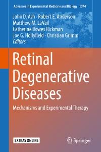 Cover Retinal Degenerative Diseases