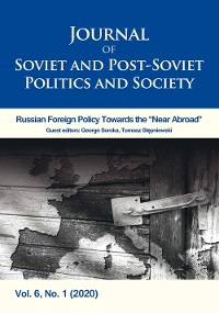 Cover Journal of Soviet and Post-Soviet Politics and Society