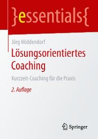 Cover Lösungsorientiertes Coaching