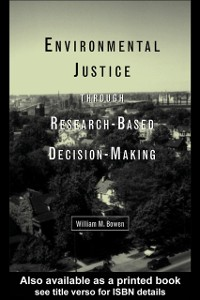 Cover Environmental Justice Through Research-Based Decision-Making