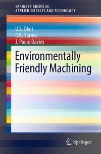 Cover Environmentally Friendly Machining