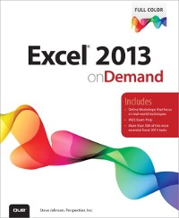 Cover Excel 2013 On Demand