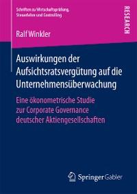Cover Auswirkungen der Aufsichtsratsvergütung auf die Unternehmensüberwachung