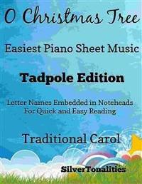 Cover O Christmas Tree Easiest Piano Sheet Music Tadpole Edition