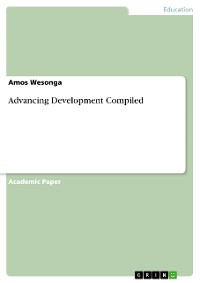 Cover Advancing Development Compiled