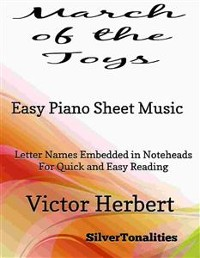 Cover March of the Toys Easy Piano Sheet Music