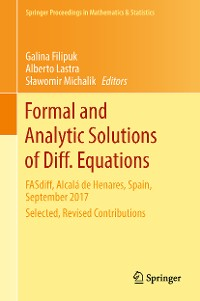 Cover Formal and Analytic Solutions of Diff. Equations