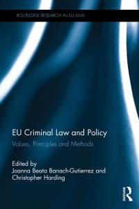 Cover EU Criminal Law and Policy