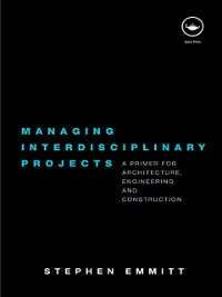 Cover Managing Interdisciplinary Projects