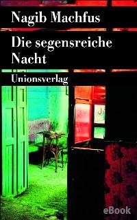 Cover Die segensreiche Nacht