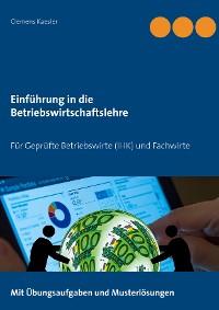 Cover Einführung in die Betriebswirtschaftslehre
