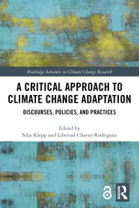 Cover Critical Approach to Climate Change Adaptation