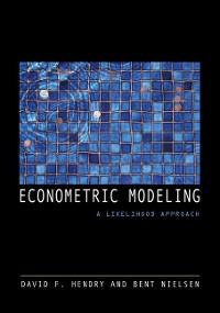 Cover Econometric Modeling
