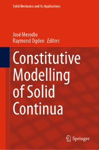 Cover Constitutive Modelling of Solid Continua