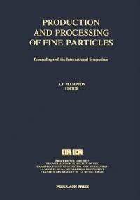 Cover Production and Processing of Fine Particles