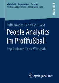 Cover People Analytics im Profifußball