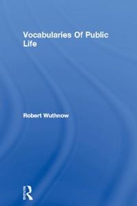 Cover Vocabularies Of Public Life