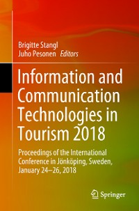 Cover Information and Communication Technologies in Tourism 2018