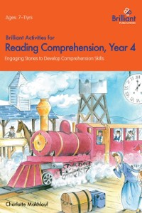 Cover Brilliant Activities for Reading Comprehension Year 4